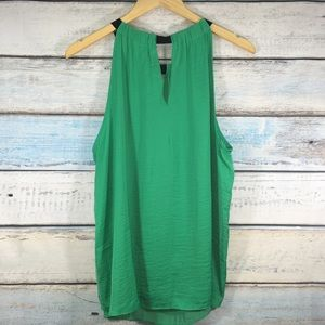 Jennifer Lopez Tops - Jennifer Lopez green sleeveless blouse size XL
